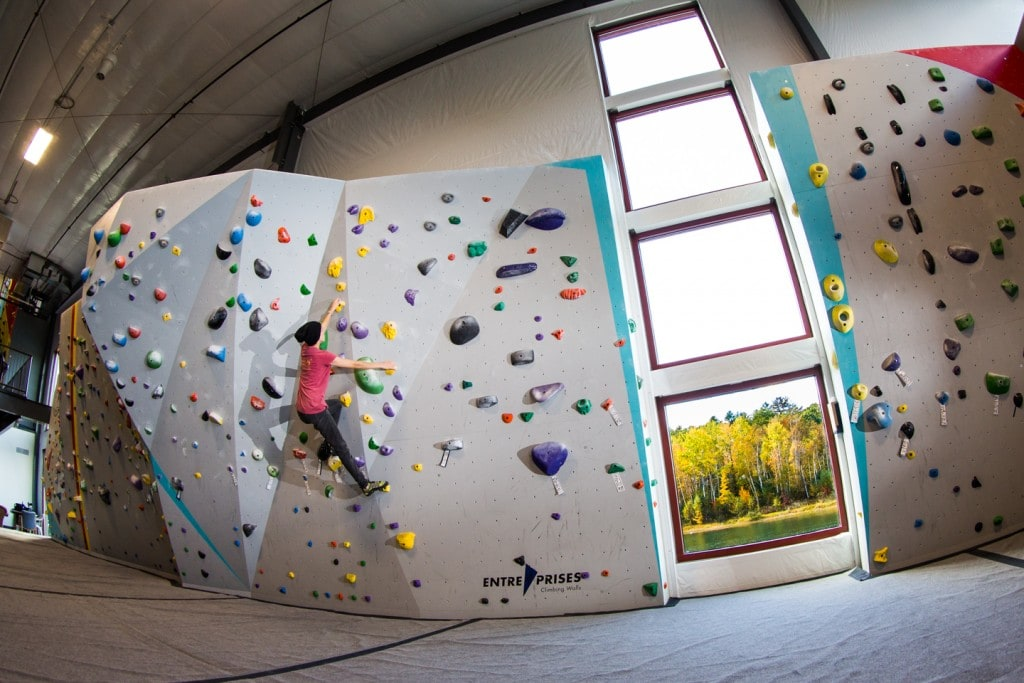 Our bouldering are was built to accommodate everyone -- from beginner to experts.