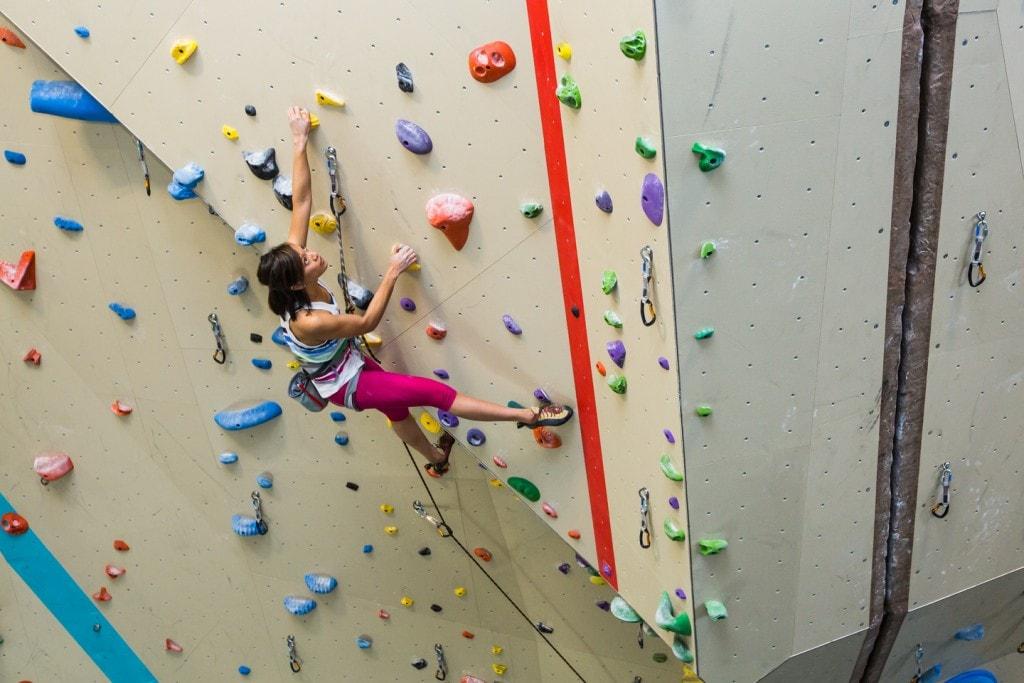We work hard to keep the climbing imaginative and fun.